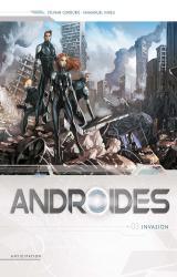 couverture de l'album Androïdes T.3 - Invasion