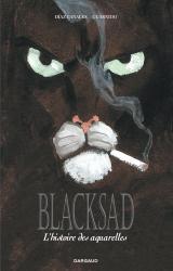 couverture de l'album Blacksad Aquarelles - intégrale