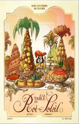 couverture de l'album À la table du Roi-Soleil