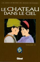 page album Le Château dans le ciel T.4