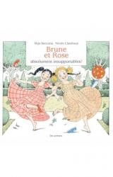 couverture de l'album Brune et Rose, absolument insupportables