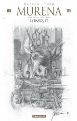 page album Le Banquet (édition crayonnée)