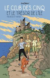 couverture de l'album Le Club des Cinq et le trésor de l'île