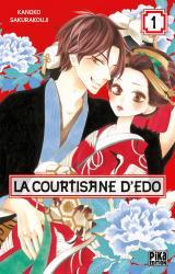 page album La courtisane d'Edo T.1