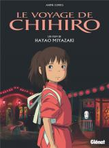 couverture de l'album Le voyage de Chihiro - Anime comics - Studio Ghibli