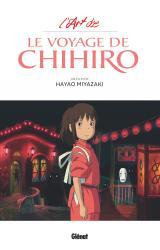 couverture de l'album L'Art du Voyage de Chihiro - Studio Ghibli