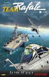 couverture de l'album Le vol AF714 a disparu