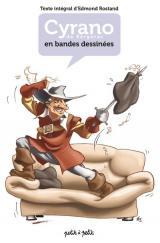 couverture de l'album Cyrano de Bergerac en bandes dessinées (texte intégral)