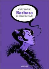 couverture de l'album Chansons de Barbara en bande dessinée