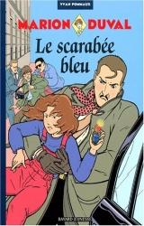 couverture de l'album Le scarabée bleu