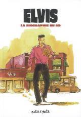 couverture de l'album Elvis la biographie en bd