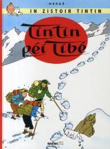 couverture de l'album Tintin péi tibé