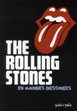 couverture de l'album The rolling stones en bandes dessinées