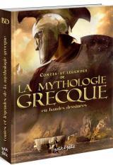 couverture de l'album La mythologie grecque en bandes dessinées