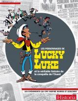 page album Les personnages de Lucky Luke et la véritable histoire de la conquête de l'ouest