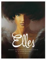couverture de l'album Elles - Grandes aventurières et femmes fatales de la bande dessinée