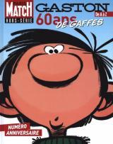 couverture de l'album Gaston de A à Z, 60 ans de gaffes