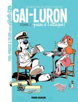 couverture de l'album Gai-luron passe l'attaque !