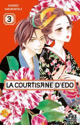 page album La courtisane d'Edo T.3
