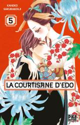 page album La courtisane d'Edo T.5