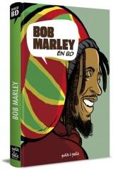 couverture de l'album Bob Marley en bandes dessinées