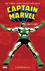 couverture de l'album Captain Marvel L'intégrale 1967-1969