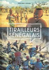 couverture de l'album Histoire des tirailleurs sénégalais