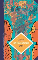 couverture de l'album Homo Sapiens. Histoire(s) de notre humanité.