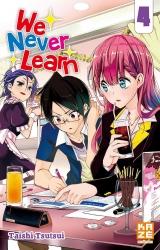 couverture de l'album We Never Learn - Tome 04