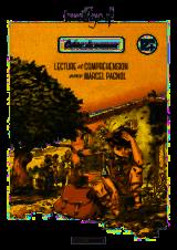 page album Cahier de vacances lecture & comprehension avec Marcel Pagnol