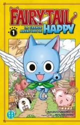 couverture de l'album Fairy Tail - La grande aventure de Happy Vol.1