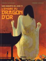 couverture de l'album L'énigme du dragon d'or