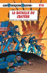 couverture de l'album La bataille du Cratère