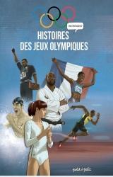 couverture de l'album Histoires incroyables des Jeux Olympiques en BD