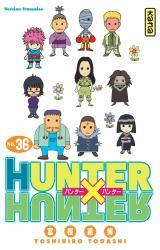 page album Hunter X Hunter T36