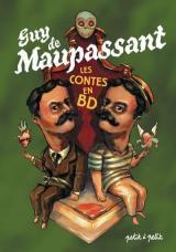 page album Contes de Maupassant en bandes dessinées