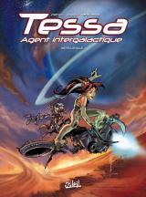 couverture de l'album Tessa agent intergalactique Intégrale 1
