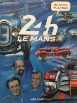 couverture de l'album Histoires incroyables des 24H du Mans