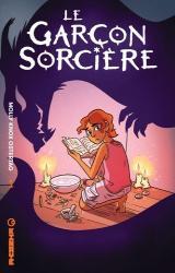 page album Le garçon sorcière