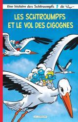 couverture de l'album Les Schtroumpfs et le vol des cigognes