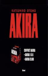 couverture de l'album Coffret édition originale en 7 volumes : Tomes 1 à 6 - Avec Akira Club -  Edition de luxe