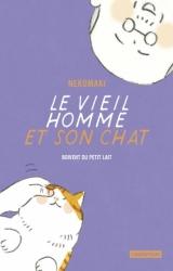 page album Le vieil homme et son chat boivent du petit lait