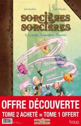 page album Tome 1 et Tome 2, Le mystère du jeteur de sorts offert