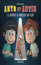 couverture de l'album Anto et Antin - Tome 4 - Les aventures de monsieur Caca Plouf