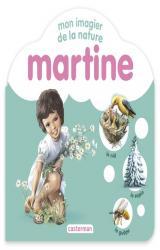 couverture de l'album Mon imagier de la nature Martine