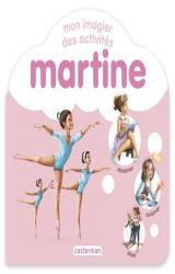 couverture de l'album Mon imagier des activités Martine