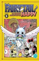 couverture de l'album Fairy Tail - La grande aventure de Happy T06