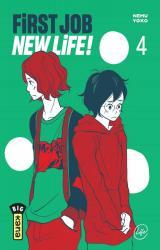 couverture de l'album First Job New Life ! - T.4