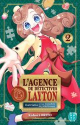 couverture de l'album L'agence de détectives Layton  - Katrielle et les enquêtes mystérieuses, tome 2