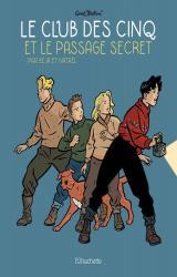 page album Le Club des Cinq et le passage secret